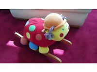 Mamas & Papas Lotty Ladybird Rocking Animal Ride-On Rocker