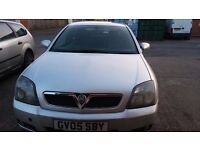 Vauxhall Vectra Silver for Sale.