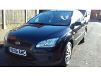 """FORD FOCUS 1.6 5 DOOR BLACK 2006 """"IMMACULATE CONDITION+LOW MILES"""""""
