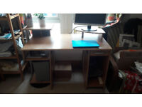 Computer Desk with loads of compartments