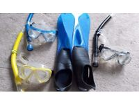 US Divers mask and snorkel set child/youth