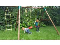 Riga Swing Set with Ladder RRP £319.99 Little Tikes BRAND NEW BOXED