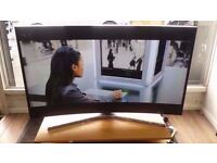 """Samsung 48"""" Smart Ultra HD 4k Curved LED TV With Warranty £480"""