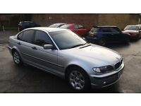 318se bmw 2002year petrol auto 137000mile mot 8/9/17 history hpi clear 1 day drive away insurance