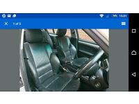 Bmw e46 saloon black leather seats and interior