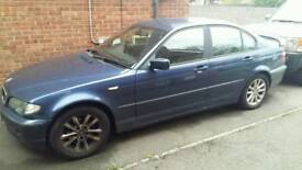 2003 Blue BMW 318i 2.0 litre
