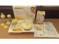 Medulla breast pump with extras