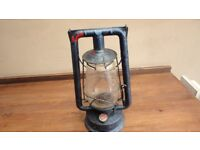 "Vintage Chalwyn ""Pilot"" Paraffin Lamp Hurricane Lantern, Original glass"