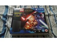 Brand new PS4 Slim 500GB with Lego Star Wars bundle. Still sealed.