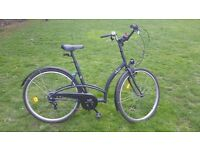 2 adult city bikes for sale