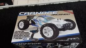 Carnage ftx remote control car excellent condition.