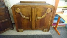 Original Oak Art Deco Sideboard/Buffet