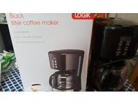 Black coffee machine maker- Logic