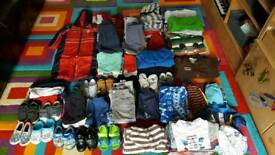 Huge Boys clothes bundle #139 items