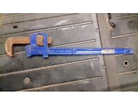 STILLSONS 24 INCH ADJUSTABLE PIPE WRENCH