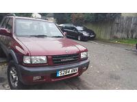 Vauxhall FRONTERA 3.2 v6 29k