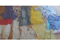 Family Clothes Bundle (Men's, Women's, Girl's, Babies), Four Sacks Worth, Some New and Unworn