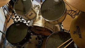 Pearl Export Drum Kit with Iron Cobra and all new skins/ hardware