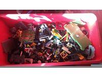 110L Tub full mixed LEGO!!!