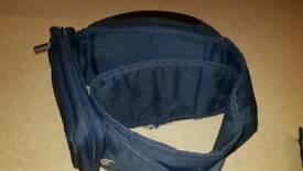 Hippychick Hip Seat Navy + Hippychick Hip Seat Accessory Bag Navy