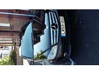 Mercedes 1.6 auto, petrol saloon, 2009, metallic black,46k,fsh, lovely condition. mot due `17/8/16