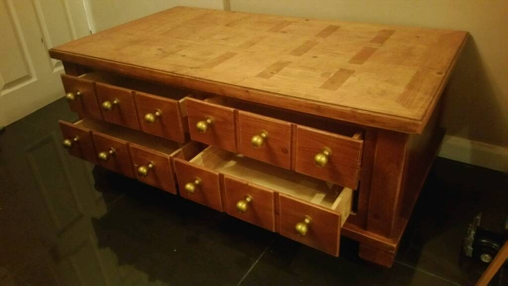 Large chest pf drawers / table. £60