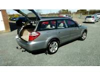 08 Auto Subaru OUTBACK 2.5 Estate FULL HISTORY MOT Feb 19 Nice car Can be Seen anytime