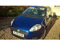 Low Milage Fiat Punto Grande 3dr FSH 2 Keepers