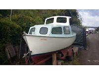 Fishing Project Boat- (BMC 1.5 Engine) Loads of bits included