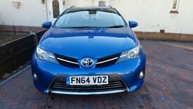 2014 Toyota Auris Excel VVT-cvt hybrid elec