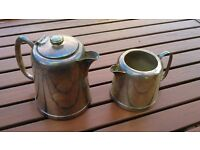 Silver plated coffee/tea or water pots (set of two)