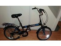 Folding bike, bicycle and accessories