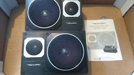 Vintage Realistic 2-Way Car Speakers Boxed New £50 OVNO