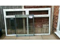 Double glazed window and glass ( brand new)