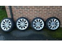 BMW OEM Winter Wheels and Tyres for BMW 3 Series 2012 onwards F30/31/32
