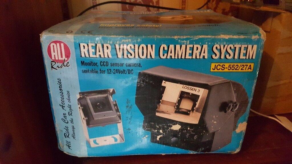 12vor24v rear veiw camera system