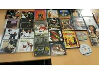 Music CDs, Film DVDs and games job lot