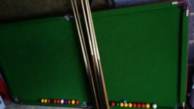 Snooker Table 3ft x 6 ft