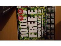 20 paintball tickets Bargain