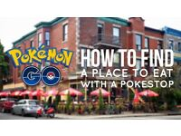 How To Find A Place To Eat With A Pokestop