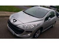 Peugeot 308 ,127K Miles , MOT till April 2018 ,£30.00 tax/yr , AC/CD/Radio .Very economical to run.