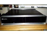 Silverstone SST-ML02B-MXR Milo Home Theater PC case.