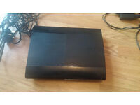 PS3 Superslim 500 GB with 5 games