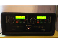 Numark CDN22 Mk4 dual CD rack system. (Inc Rack Case)