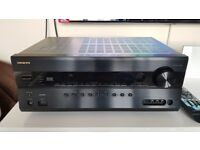 Onkyo TX-SR608 7.2 Channel, 160W, AMP (Black) - £150 ONO