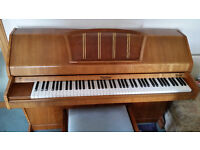 Eavestaff Pianette MINIROYAL Mini piano and stool