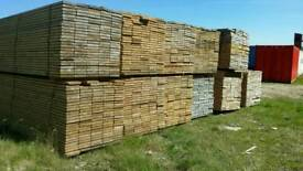 Unbanded Untreated Scaffold Boards (38mm x 225mm) 3.9mtr Lengths