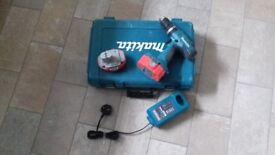 Makita drill SPARES OR REPAIRS