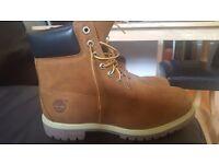 Timberland boots size UK 10/US10.5W