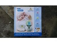 Tomy TF550 Digital Baby Monitor LCD Display Alarm Nightlight Thermometer Clock NEW.